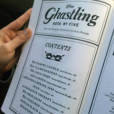 the ghastling no 5 fonts in use