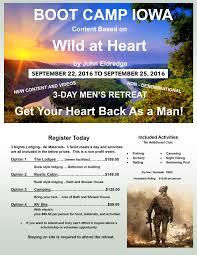 Iowa wild swimming images Wild at heart iowa boot camp 3 day men 39 s retreat jpg