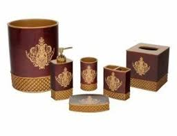 gold bathroom accessories foter