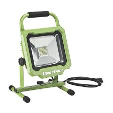 3000 lumen led work light powersmith 30 watt 3000 lumens led work light pwl1130bs the home