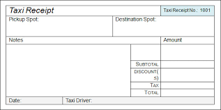 tour travel bill sample format taxi receipt template 17 free download for word pdf