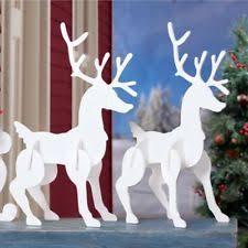 wooden winter yard décor ebay