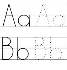 printable alphabet tracing sheets for preschoolers trace abc worksheet templates and worksheets karen s
