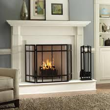 fireplace screen doors home depot