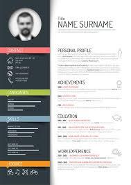 resume template modern resume template free best 25 resume templates