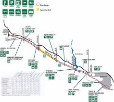 Michigan Trail Maps by Rollerski And Inline Skate On The Michigan Trailway System