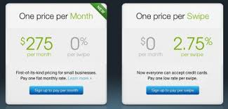 Small Business Credit Card Machines Square Introduces Flat Rate Monthly Fees For Small Business