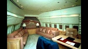 air force one interior inside air force one youtube