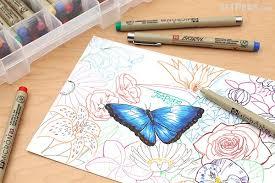 sakura pigma ink gift set 59 pen set jetpens com