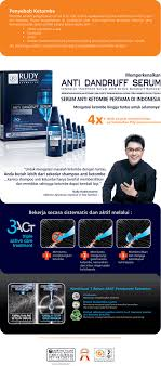 Serum Rudy rudy hadisuwarno anti dandruff serum per box update harga terkini