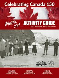 winter 2017 activity guide by city of kamloops issuu