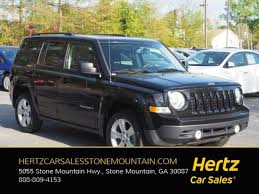 commander jeep 2016 used 2016 jeep patriot for sale near stone mountain ga