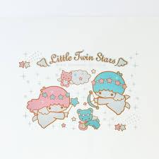 Showcase Glass Cabinet Little Twin Stars Kiki Lala Display Shelf Showcase Glass Cabinet