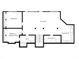 walk out basement walkout basement floor plan trend dining table design of walkout
