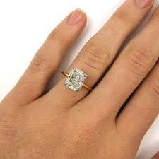 radiant cut engagement ring radiant cut engagement rings certified 401 carat radiant cut
