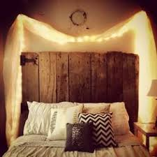 Bed Headboard Lights I Love Where The Lights Are Placed Might Do This With Lights