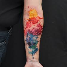 tattoo pictures color water colour tattoo by fernandoshimizu on deviantart