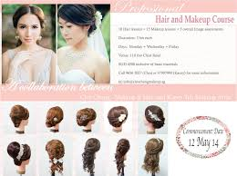 professional makeup courses professional hair makeup course cleo chang bridal makeup