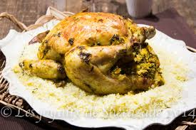 cuisine marocaine poulet farci poulet rôti farci les joyaux de sherazade