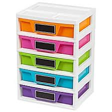 Skinny Storage Drawers Drawers U0026 Carts Real Simple Drawers Organizers U0026 More Bed
