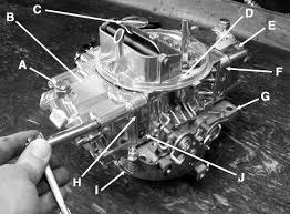 rebuild a holley carburetor