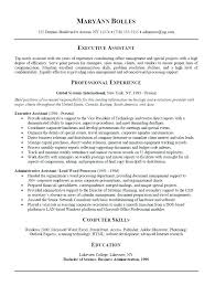 real estate administrative assistant resume sample accounts