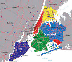 Times Square Map Map Of New York City Boroughs And Long Island You Can See A Map