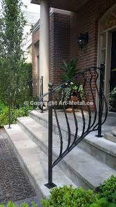 exterior railings u0026 handrails for stairs porches decks