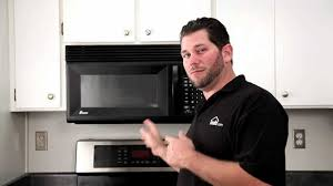 how to install over the range microwave without a cabinet how to remove a microwave over your stove range build com youtube