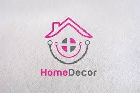 Home Decor Company Decorate Furniture Home Product Logo Templates Creative Market