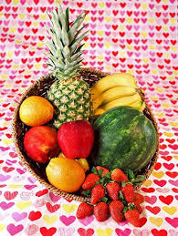 fruit basket ideas valentines day fruit basket startupcorner co