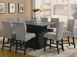 Dining Tables  Glass Dining Table Round Small Kitchen Tables High - Bar height dining table ikea
