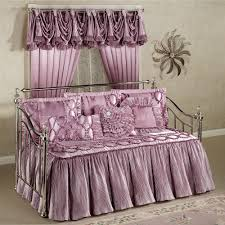 Daybed Skirts Marquis Orchid Haze Ruffled Flounce Daybed Set