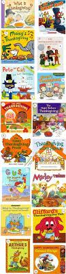 thanksgiving book list for learners kindergarten learning