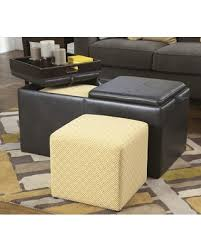 Faux Leather Ottoman Amazing Holiday Shopping Savings On Hodan 7970011 38