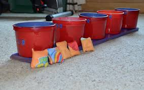cub scout halloween party games bean bag toss game took old halloween mcdonalds kids meal bin