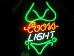 coors light bar sign coors light green neon sign neon coors light and lights