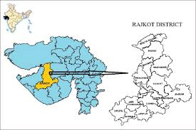 map of rajkot evaluation of national leprosy eradication program after