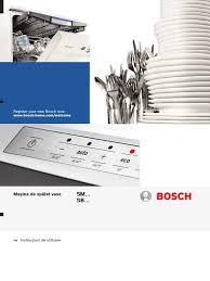 download quick start guide bosch classixx 1000 washing machine