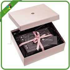handmade paper gift box with ribbon wholesale large