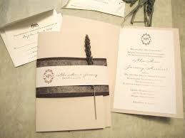 wedding invitation packages custom wedding invitation lavender booklet suite papercake designs