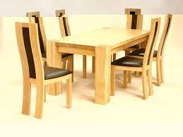 solid oak dining table with chairs with design hd images 12696