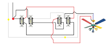 3 way switch wiring diagram multiple lights and ripping for