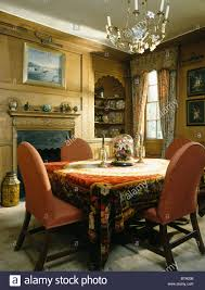 Dining Room Tablecloths by Interiors Traditional Dining Rooms Tablecloths Stock Photos