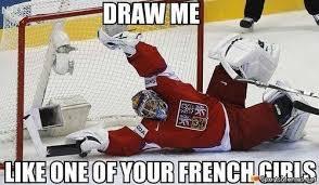 Hockey Goalie Memes - draw me pls everything hockey pinterest hockey goalie