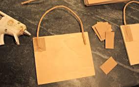 diy paper bag ornament