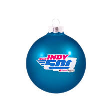 2018 indy 500 glass ornament indianapolis motor speedway indycar