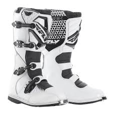 motocross boots kids fly racing 2016 maverik mx boots white available at motocross giant