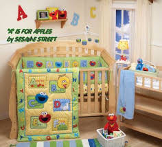 Elmo Bedding For Cribs Sesame Baby Nursery Crib Bedding Abc Alphabet Mobile Babies