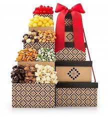 gift towers epicurean snack shoppe gift tower